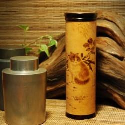 葫蘆燒畫茶葉罐