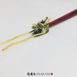 龍頭鐵壺插