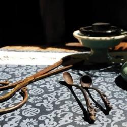 神獸鐵香勺(香粉用)