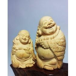 竹工雕小彌勒
