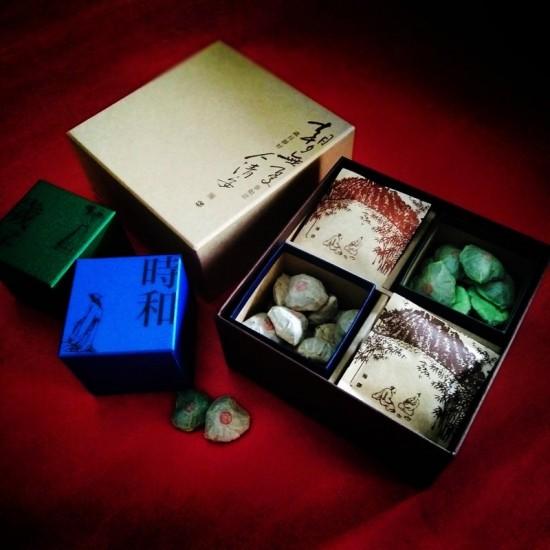 四方普洱臻藏禮盒