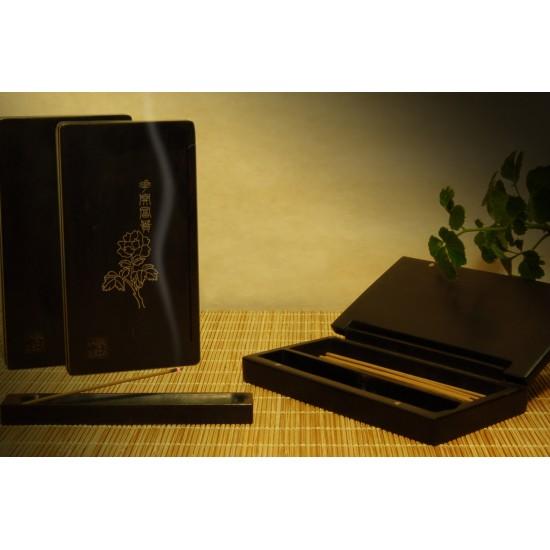 黑檀3.5寸盒套組 附3克添香